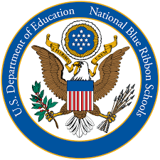 United States Department of Education Blue Ribbon Logo