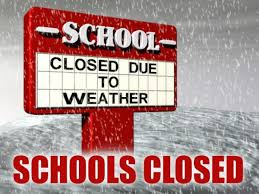 District 105 Weather Related School Closings
